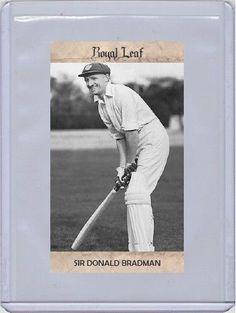 Sir Donald Bradman
