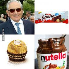 Michele Ferrero & family