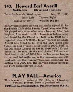 Earl Averill