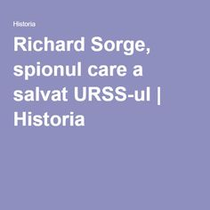 Richard Sorge
