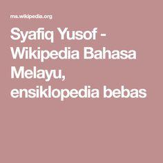Syafiq Yusof