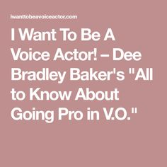 Dee Bradley Baker