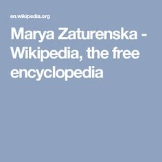 Marya Zaturenska