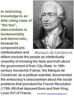 Marquis de Condorcet