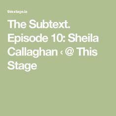 Sheila Callaghan