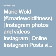 Marie Wold
