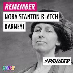 Nora Stanton Blatch Barney