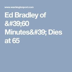 Ed Bradley